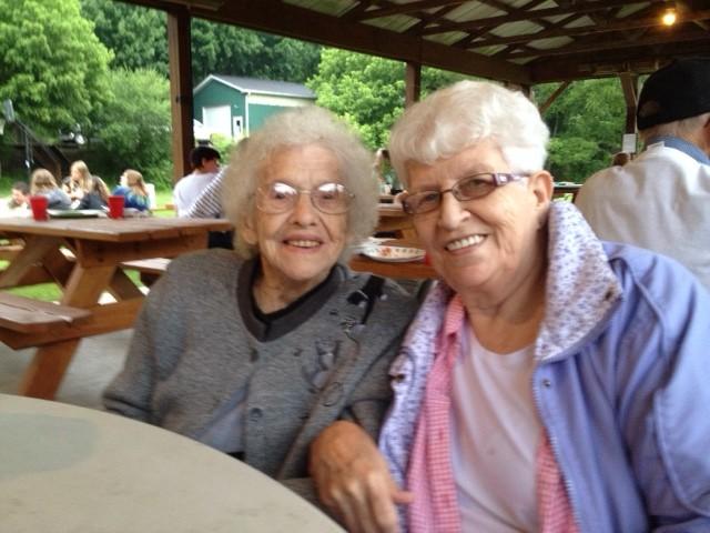 Kay and Thelma